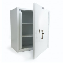 Dangerous Drugs Cabinet 500W X 300D X 550H mm With Two Removable Shelves
